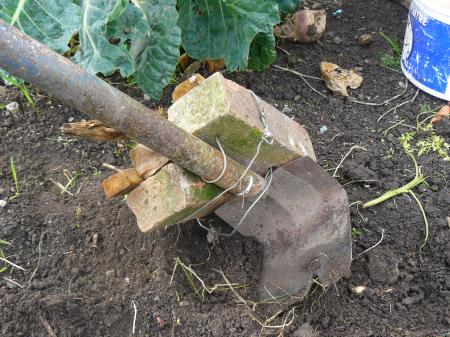 "Sandy's simple ""plough"""